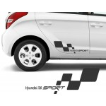 Hyundai i20 Sport Araba Sticker