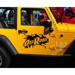 Offroad Araba Sticker
