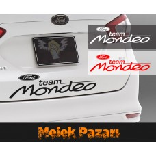 Ford Mondeo Team Oto Sticker