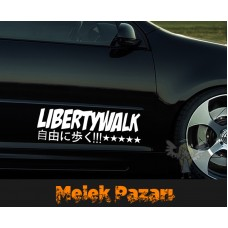 Liberty Walk Oto Sticker, Araba Sticker