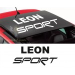 Seat Leon Sport Sunroof Araba Sticker