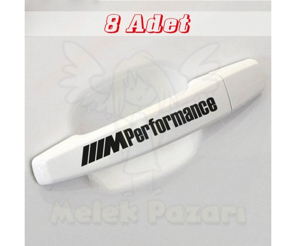 BMW Performance Kapı Kolu Jant Sticker, Arab Sticker