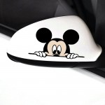 Mickey Mouse Araba Sticker, Oto Sticker