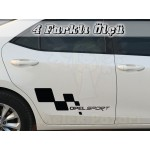 Opel Sport Sağ Sol Set Araba Sticker
