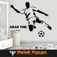 Futbolcu Duvar Sticker