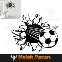 Futbol Topu Duvar Sticker