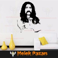 Barış Manço Slilüeti Duvar Sticker