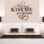 Always Kiss Me, Aşk Duvar Sticker