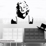 Marylin Monroe Duvar Sticker