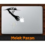 Gizli Canavar Laptop Sticker