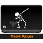 Dansçı İskelet Laptop Sticker