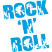 Rock'n Roll Duvar Sticker