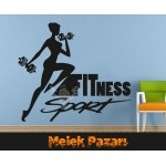 Fitness Sport Sticker