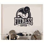Fitness Center Duvar Sticker