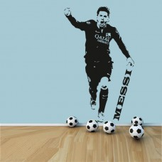 Messi Duvar Sticker