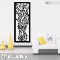 Ağaç Kadın Dekoratif Ahşap Tablo