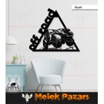 Off Road Jeep Dekoratif Ahşap Tablo - Lazer Kesim